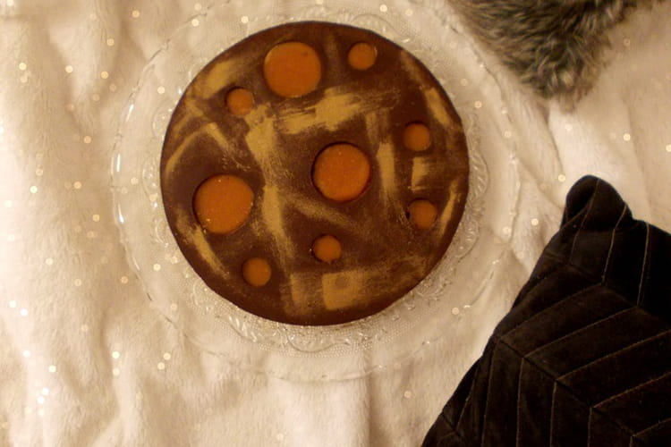 Tarte au chocolat et caramel de Christophe Felder
