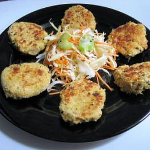 bouchées moelleuses thon-ricotta aux épices