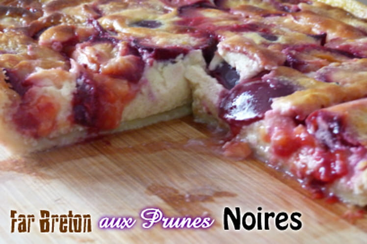 Far breton aux prunes noires
