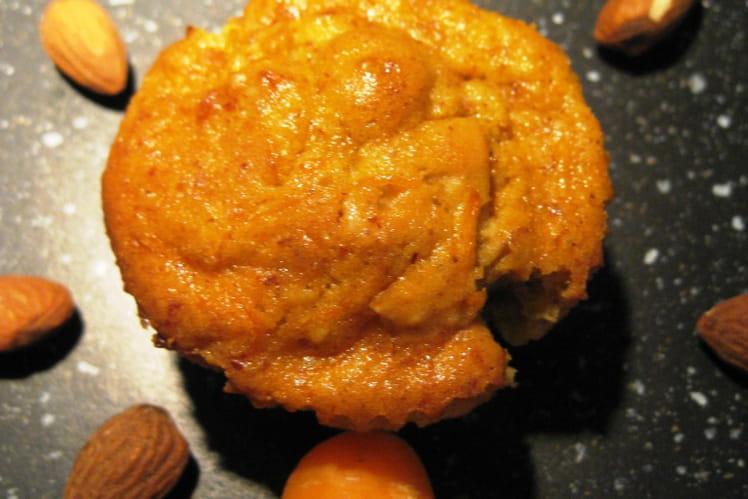 Mini cakes à la carotte et aux amandes