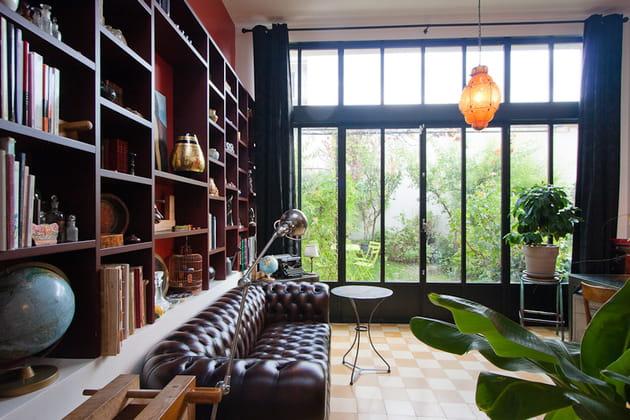 Maison loft : salon anglais