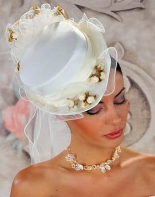 chapeau de mariage et mariages