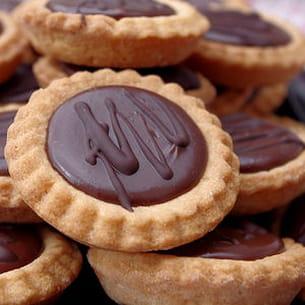 tartelettes au chocolat et carambars