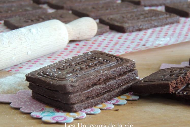 Petits sablés croquants au cacao