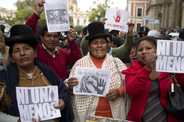 """""""Pas une de moins"""" en Bolivie"""