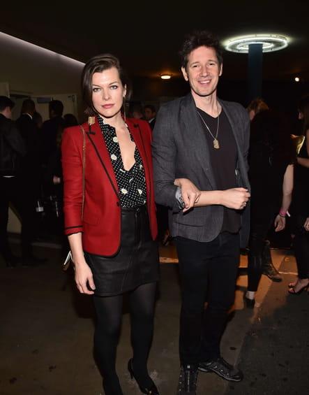 Milla Jovovich et Paul W S Anderson