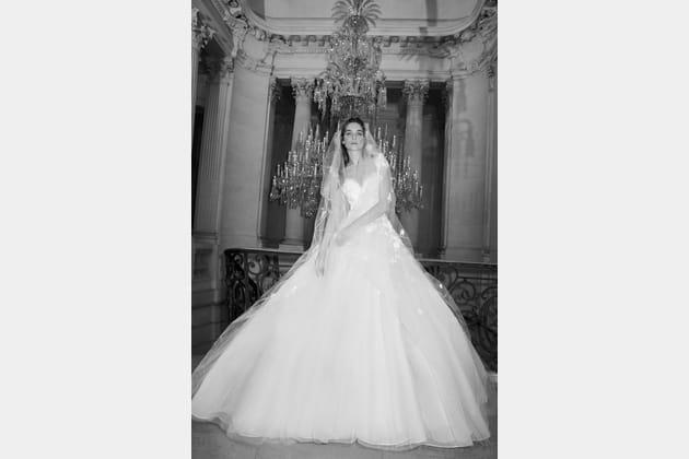 Une robe de mariée féerique