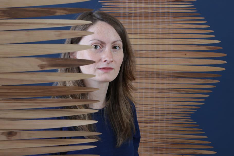 """Luce Couillet: """"J'aime travailler la matière brute pour en faire un tissu précieux"""""""