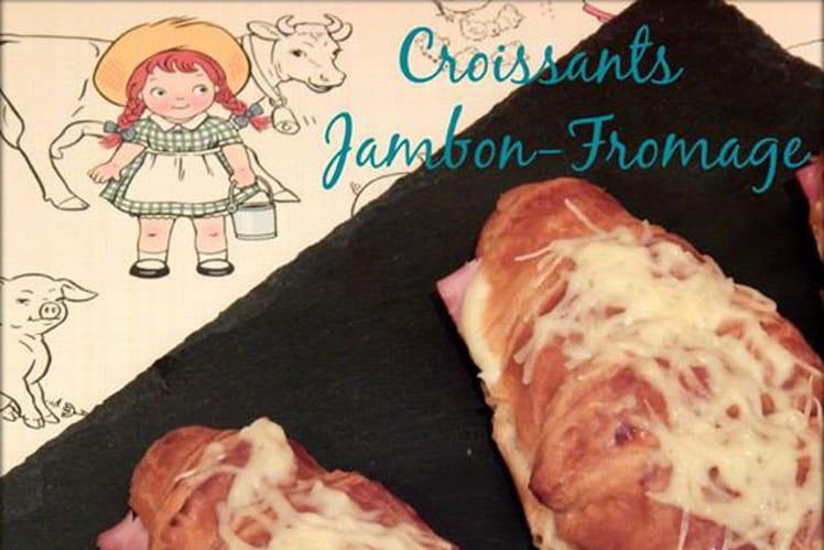 Croissants jambon-fFromage