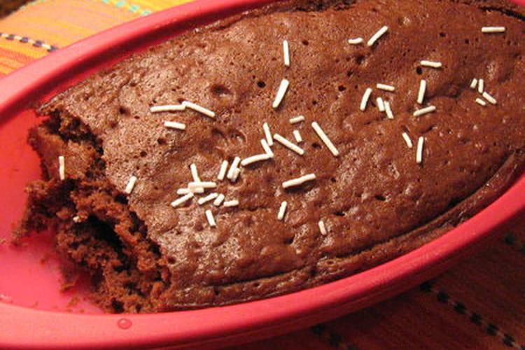 Gâteau au chocolat en papillote