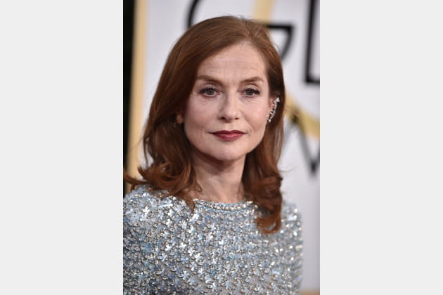 Le brushing classique d'Isabelle Huppert