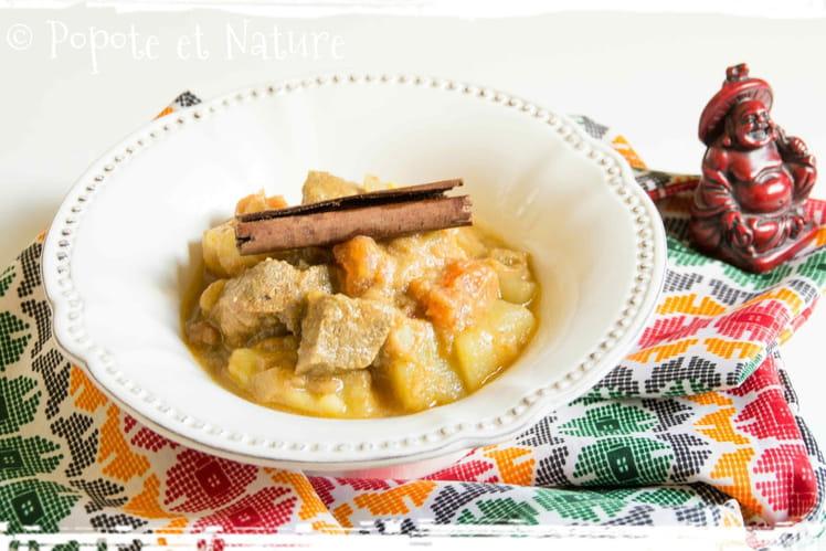 Curry de boeuf tibétain