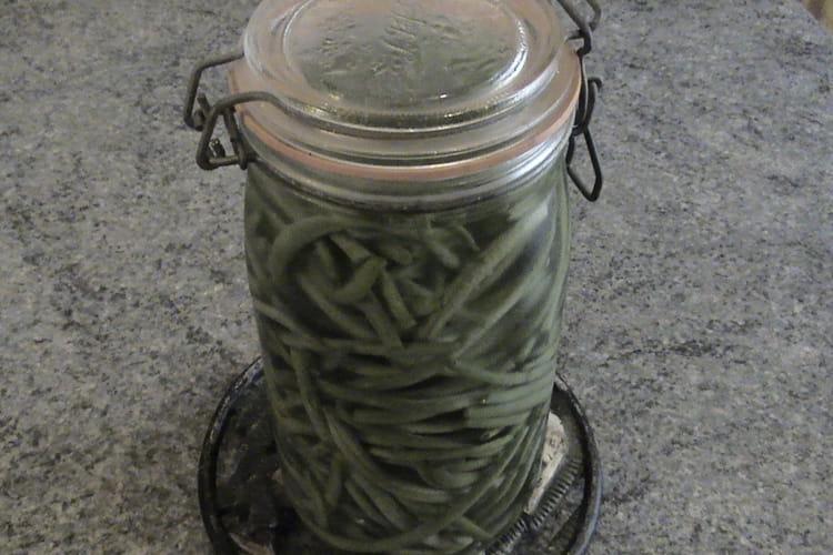 Haricots verts au sel (conserve)