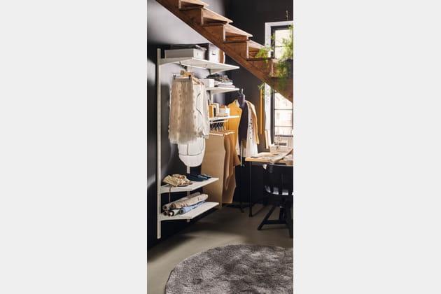 dressing ouvert. Black Bedroom Furniture Sets. Home Design Ideas