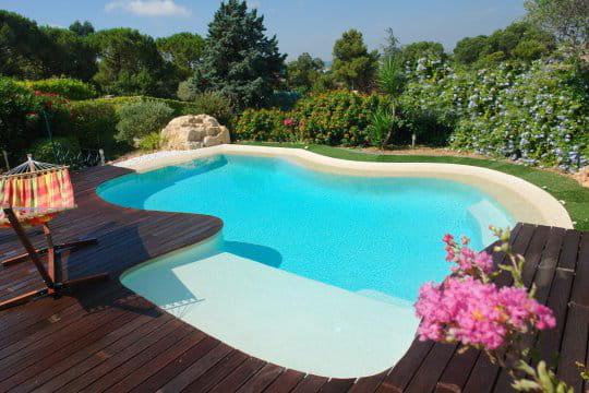 Une piscine très exotique
