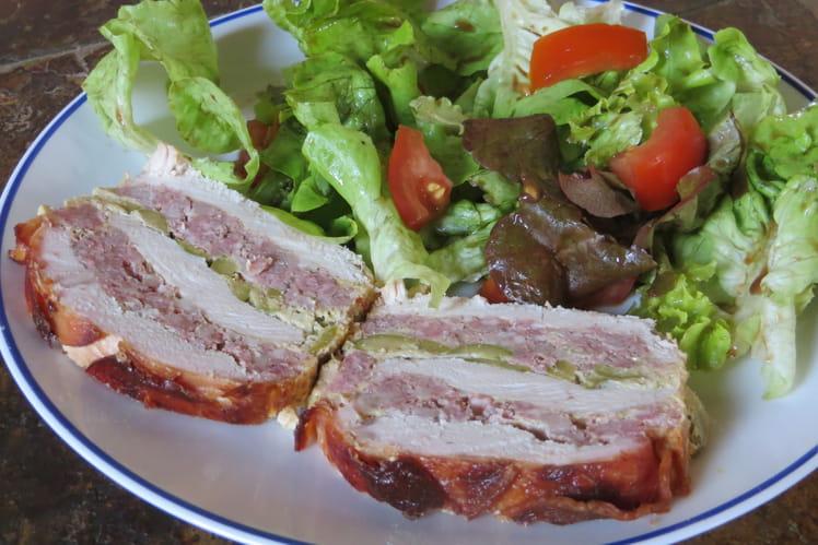 Recette de terrine de dinde aux olives la recette facile for Entree froide chic
