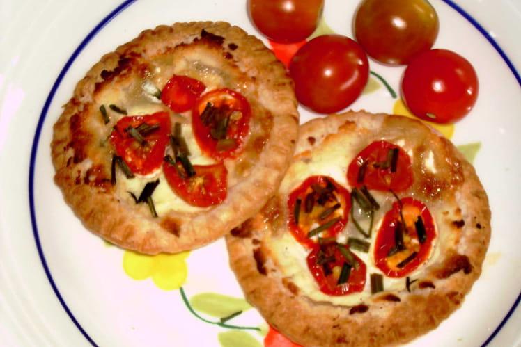 Bouchées au chèvre et à la tomate