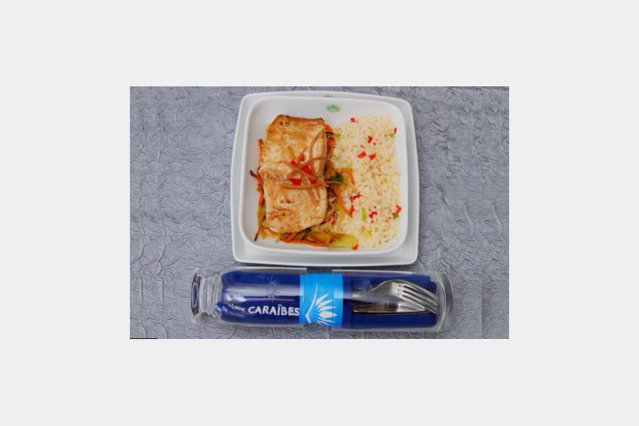Air Caraibes : délicieux poisson aux épices
