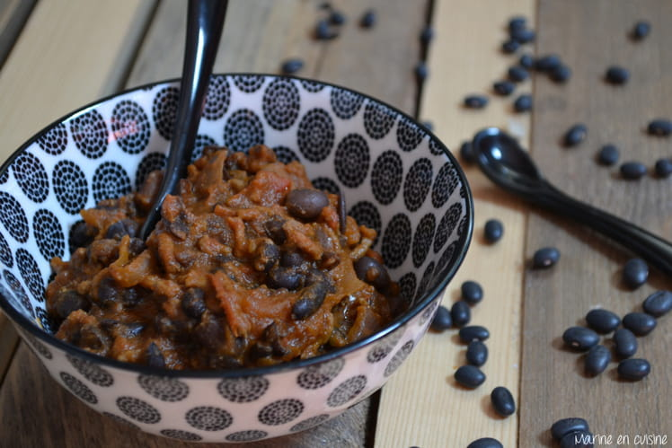 Chili con carne aux haricots noirs
