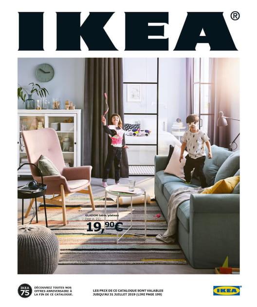 La couverture du catalogue IKEA 2019