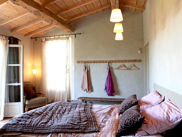 Une chambre aux couleurs tendres