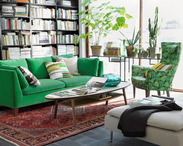 canap fauteuil et table basse stockholm d 39 ikea. Black Bedroom Furniture Sets. Home Design Ideas