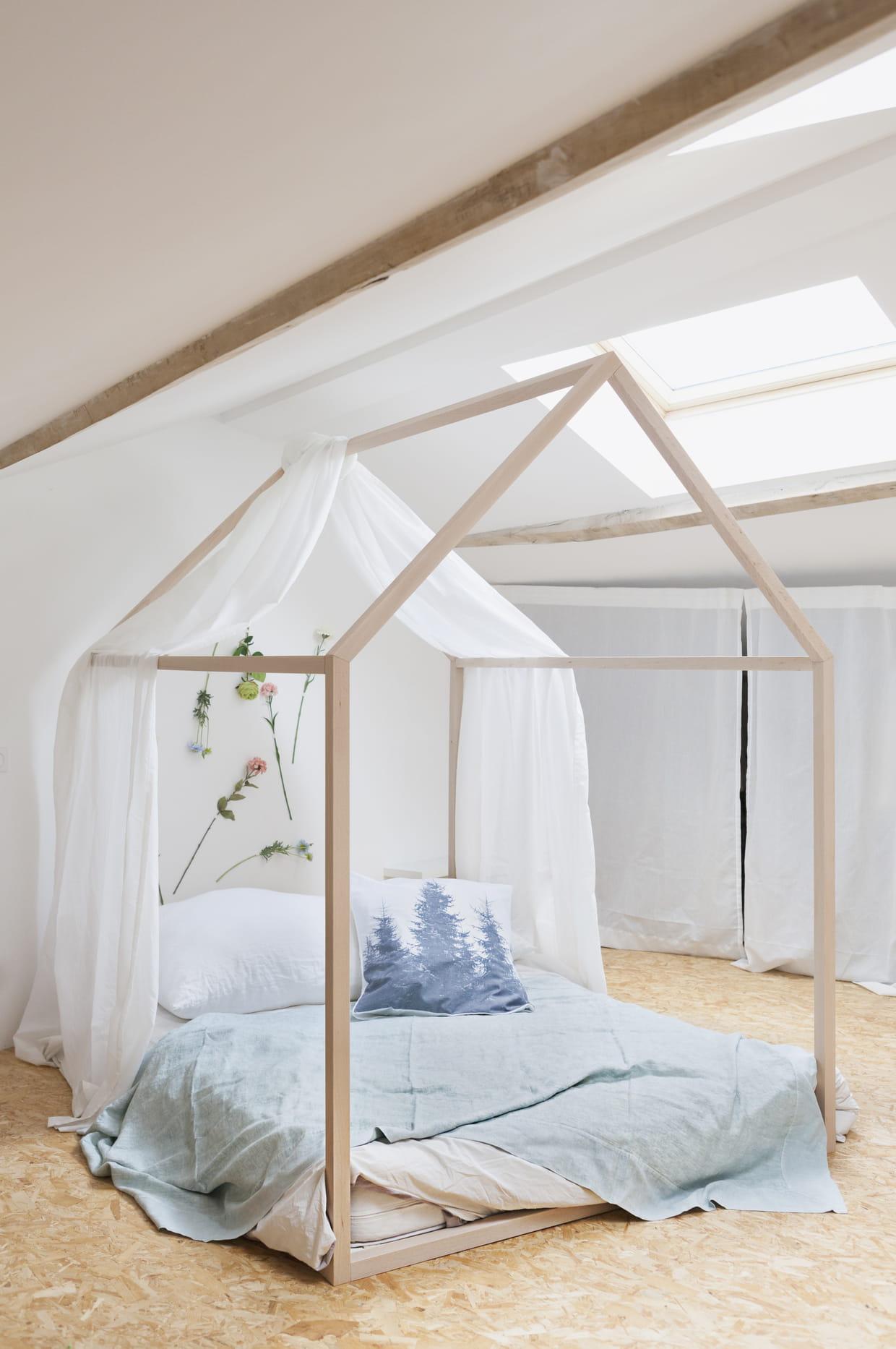 lit cabane dreamer par blomkal. Black Bedroom Furniture Sets. Home Design Ideas
