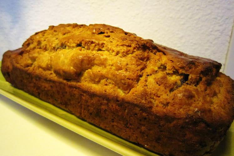 Cake aux fruits secs, citron et rhum