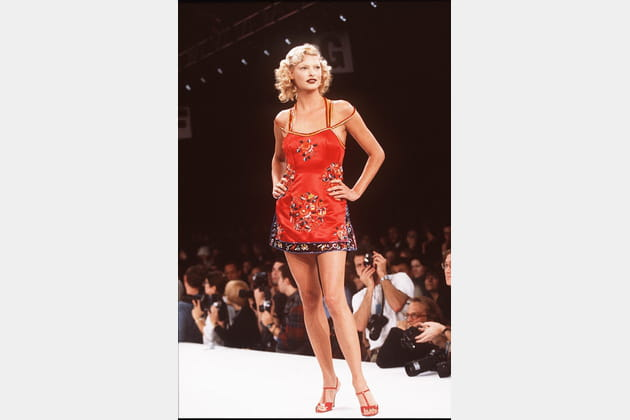 Linda Evangelista le 1er novembre 1994