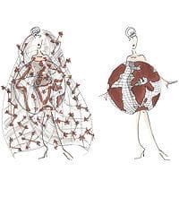 salon chocolat robe