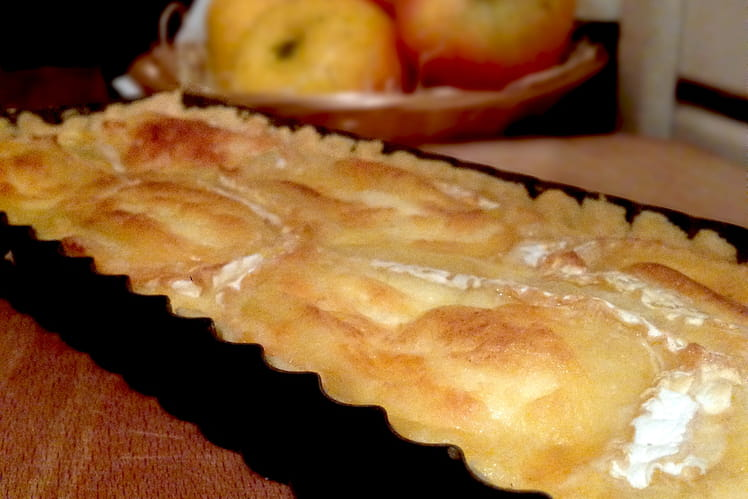 Tarte Normande Neufchâtel, pommes de terre