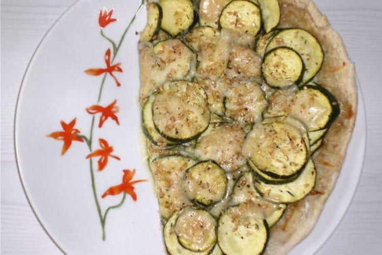 Pizza végétarienne aux mille saveurs
