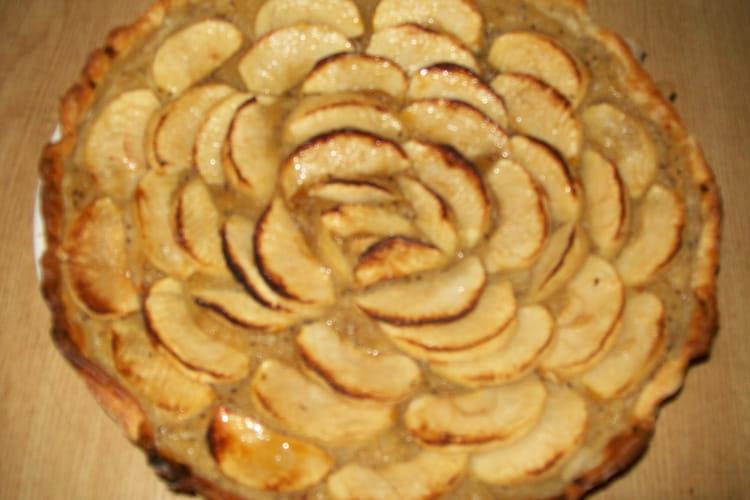 Tarte aux pommes et compote pomme-kiwi