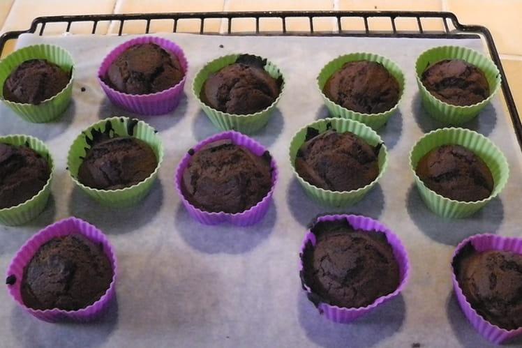 Recette de muffins au chocolat