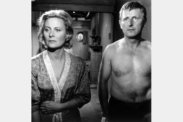 """Avec Bourvil dans """"Fortunat"""", 1960"""
