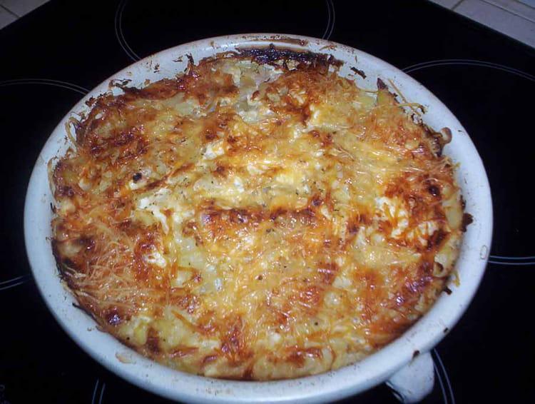 Recette de gratin de chou et pommes de terre la recette - Choux de bruxelles recette gratin ...