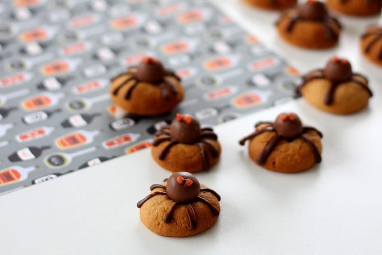 Cookies araignées d'Halloween - Spider cookies