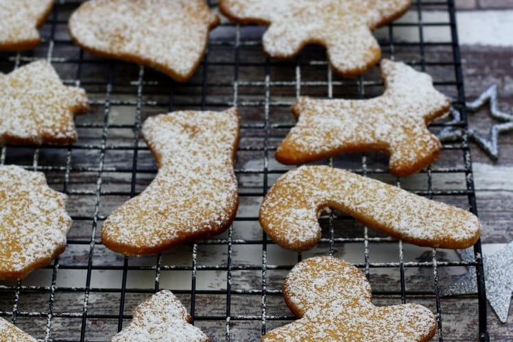Biscuits aux épices de Noël et au miel