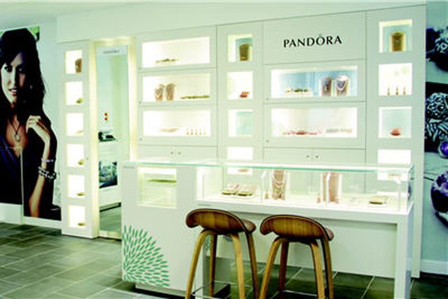 Pandora ouvre une nouvelle boutique à Paris