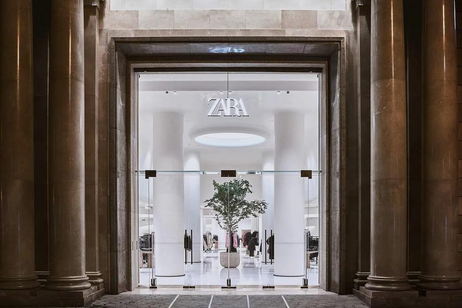 Zara ferme 1200boutiques