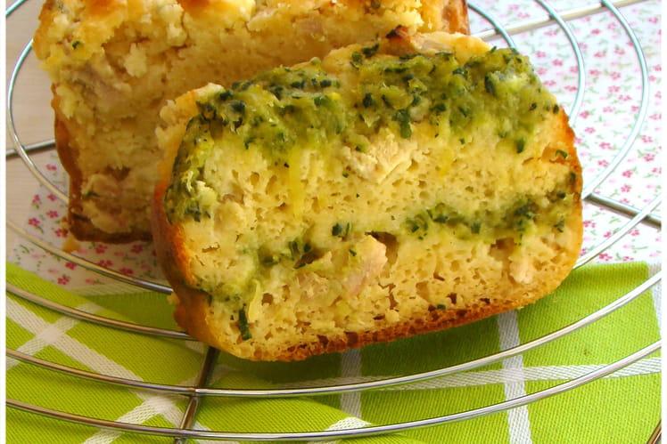 Cake au boursin et coulis de courgette au curry