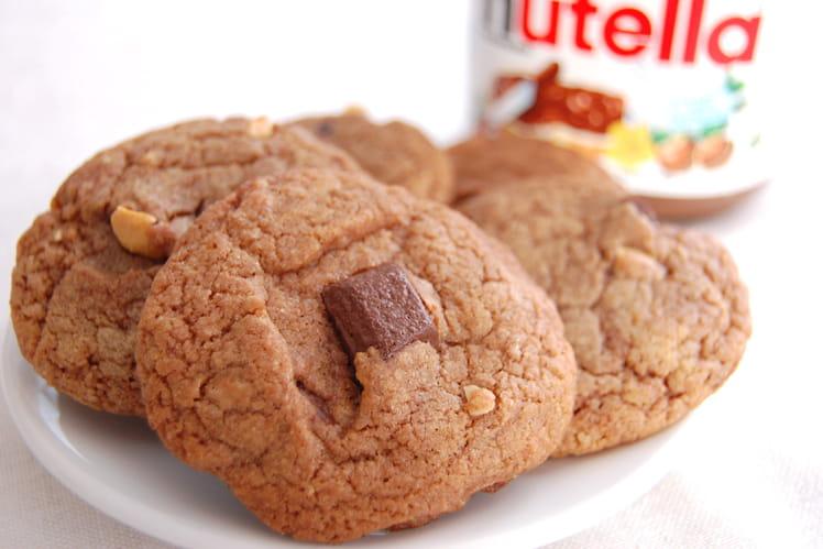 Cookies Nutella-noisettes