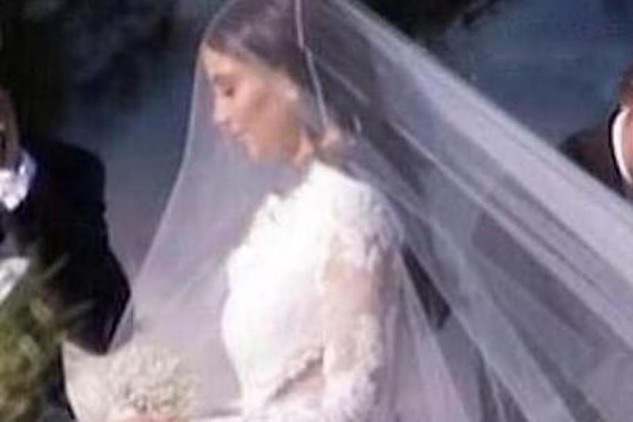 La Robe De Mariée Givenchy De Kim Kardashian