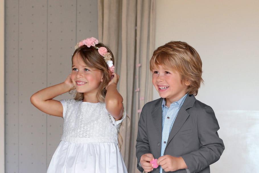 Des tenues de cérémonie chics pour les enfants