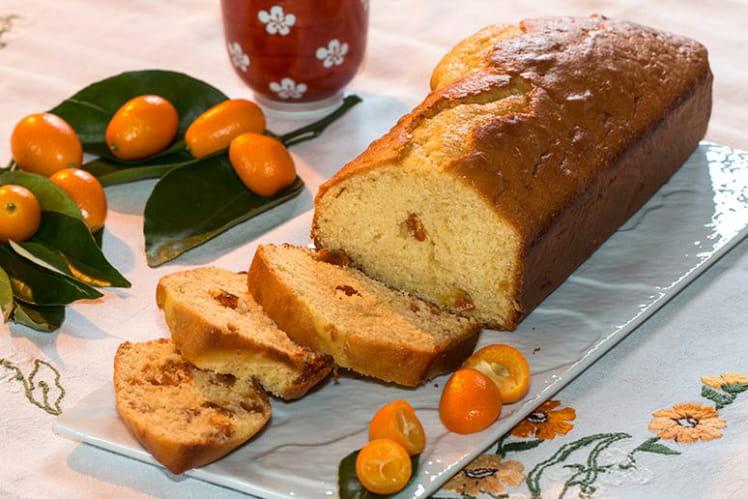 Cake aux kumquats confits