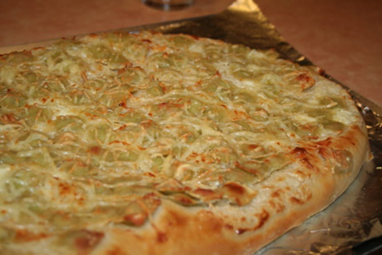 Pizza aux ravioles