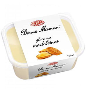 glace aux madeleines