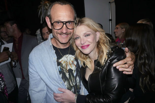 Terry Richardson et Courtney Love