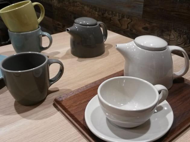 Service à thé Topo de Kinto