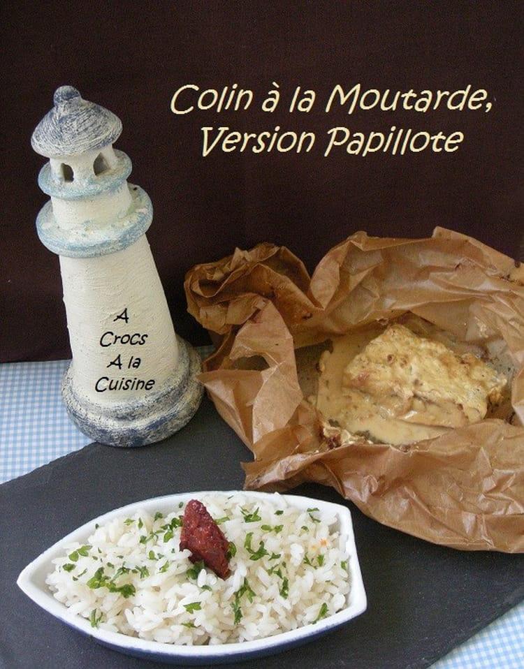 Recette de colin la moutarde la recette facile - Cuisiner du colin surgele ...